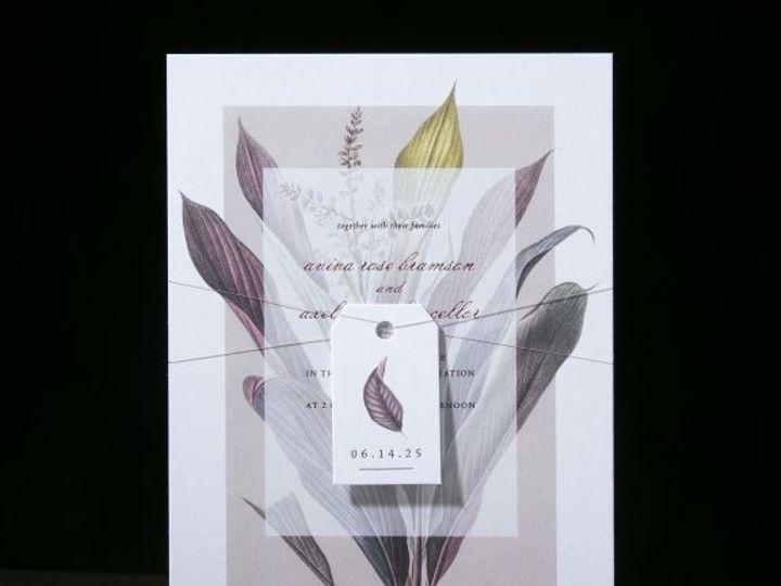 Tmx Aviva Floral Wedding Invitation 51 406417 162154711238357 Seattle, WA wedding invitation
