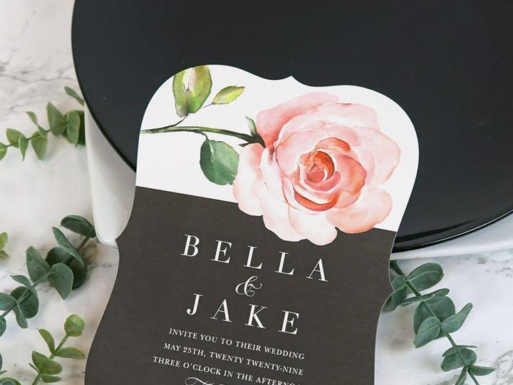 Tmx Bella Jake Die Cut Floral Wedding Invitation 51 406417 162175176297795 Seattle, WA wedding invitation