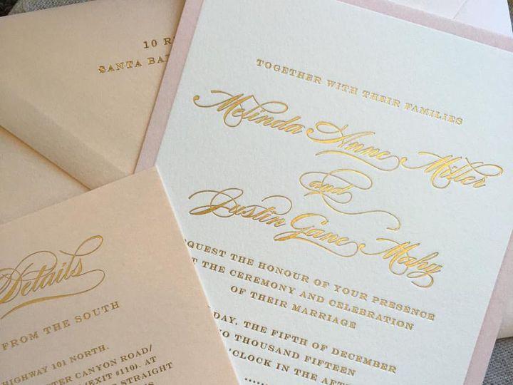 Tmx Blush Gold Foil Wedding Invitation 51 406417 162154796780170 Seattle, WA wedding invitation