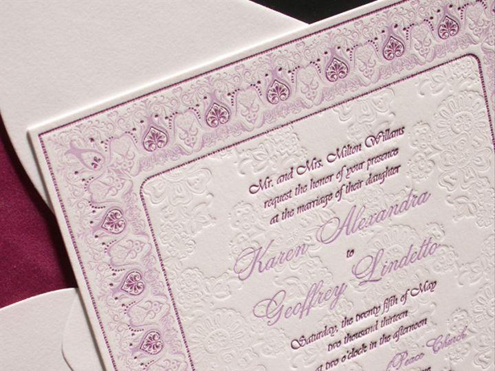 Tmx Brocade 51 406417 162174888915787 Seattle, WA wedding invitation