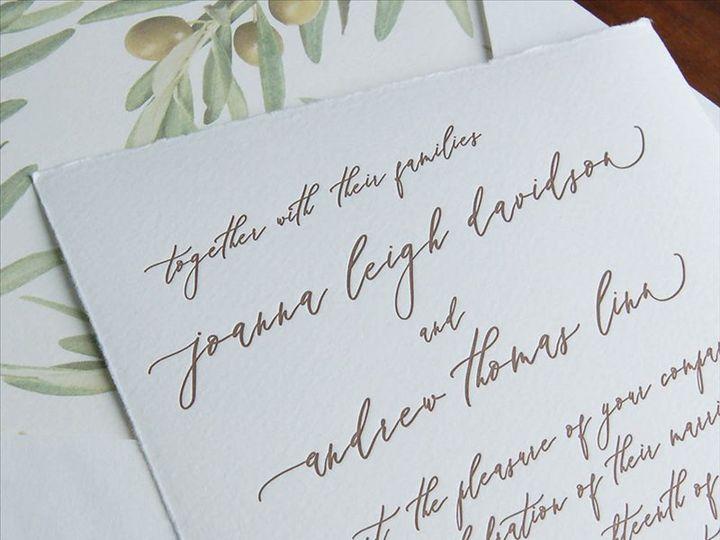 Tmx Carta Invitation 51 406417 162155050921645 Seattle, WA wedding invitation