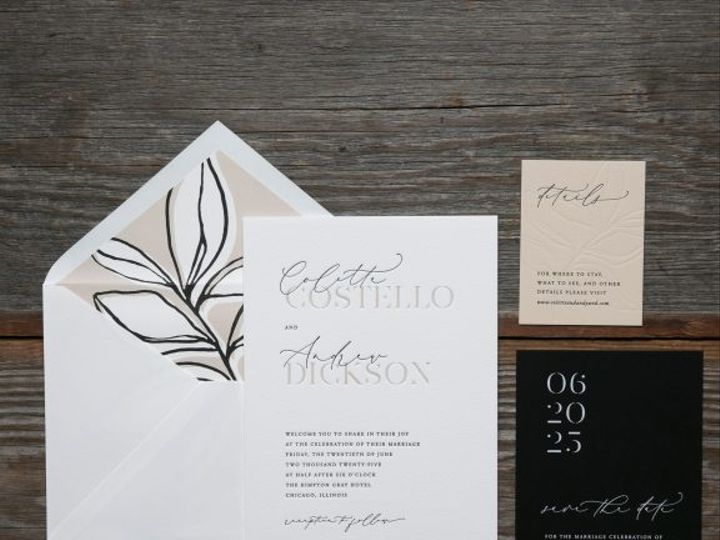 Tmx Costello Letterpress Wedding Invitation Suite 51 406417 162154711369631 Seattle, WA wedding invitation