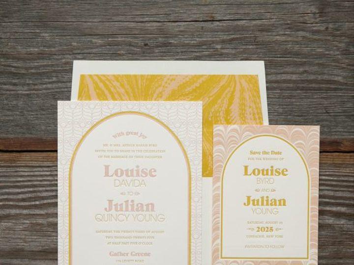 Tmx Davida Letterpress Wedding Invitation Suite 51 406417 162154711355846 Seattle, WA wedding invitation