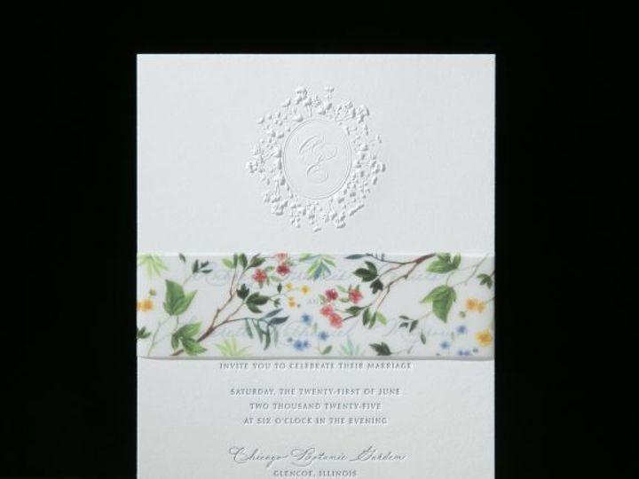Tmx Dendria Embossed Wedding Invitation 51 406417 162154711315642 Seattle, WA wedding invitation
