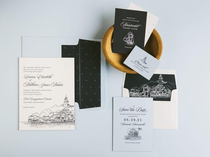 Tmx Dockside Letterpress Invitations 51 406417 162154711585575 Seattle, WA wedding invitation