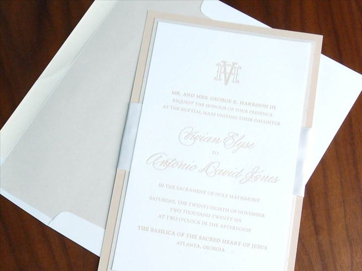 Tmx Emblema Invitation 51 406417 162155050929144 Seattle, WA wedding invitation