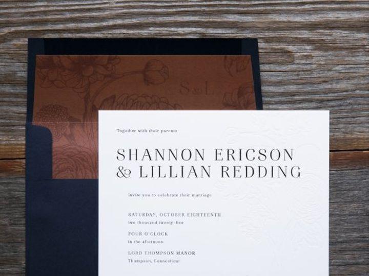 Tmx Hawthorne Floral Wedding Invitation 51 406417 162154711348375 Seattle, WA wedding invitation