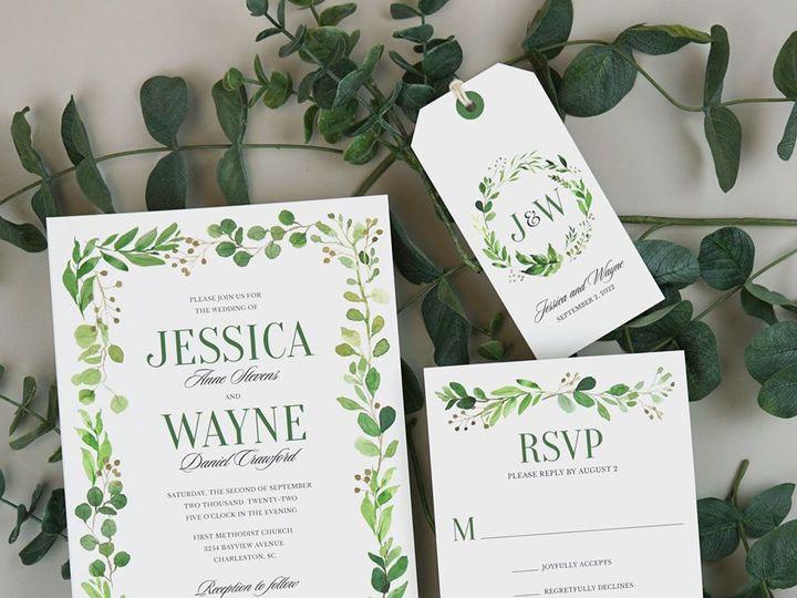 Tmx Jessica Wayne Wedding Invitation 51 406417 162175176362685 Seattle, WA wedding invitation
