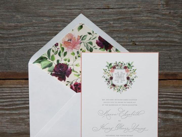 Tmx Olensen Floral Wedding Invitation 51 406417 162154711653584 Seattle, WA wedding invitation
