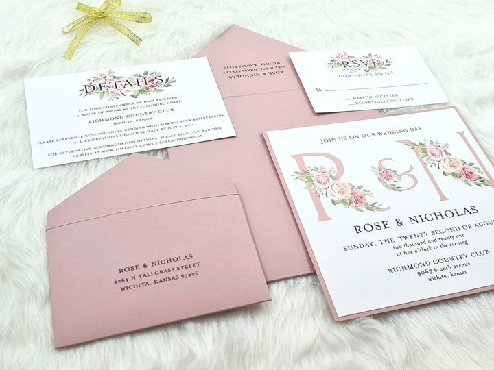 Tmx Oregon Spring 51 406417 162154653487173 Seattle, WA wedding invitation