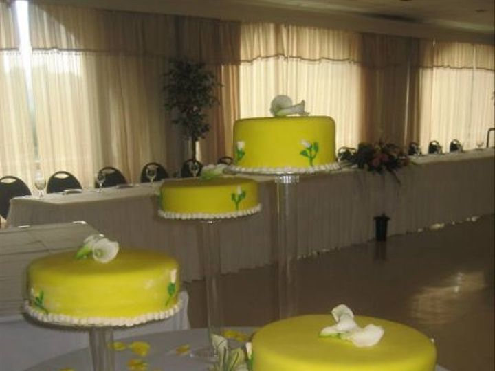 Tmx 1256863967524 Canaryweddingcake Philadelphia wedding cake
