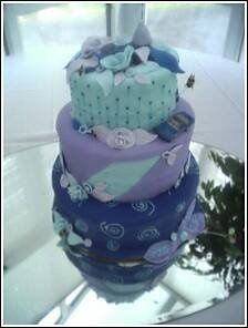 Tmx 1256863968993 Myblueheavenweddingcake Philadelphia wedding cake