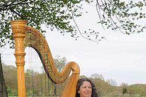 Harpist Janet King