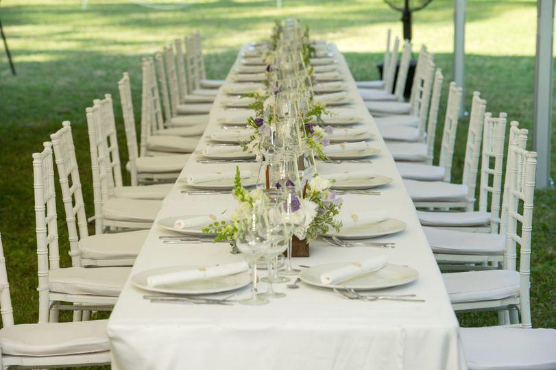 Couples' Wedding Table