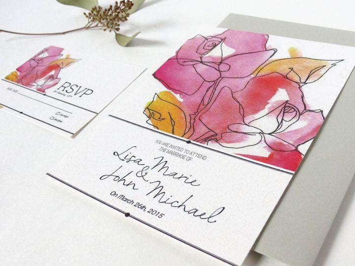 Tmx 1433472928464 Img4716correct Scarsdale wedding invitation