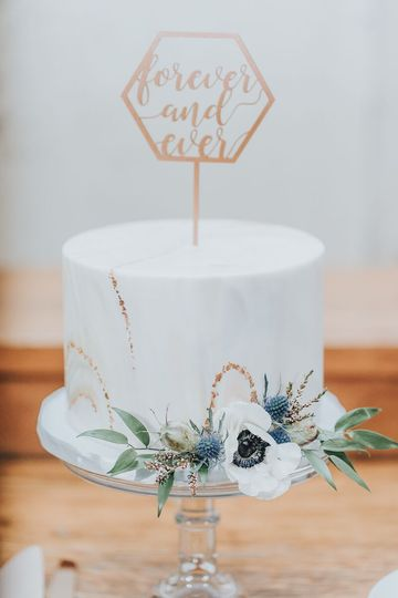 Nc wedding cake