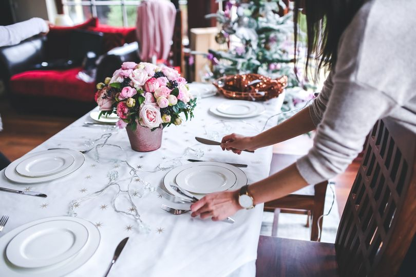 Lilydale table setting
