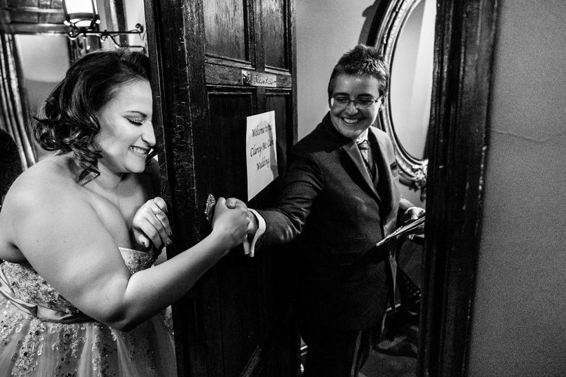 Emotional wedding prep