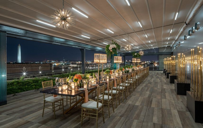 Rooftop Terrace Seated Dinner