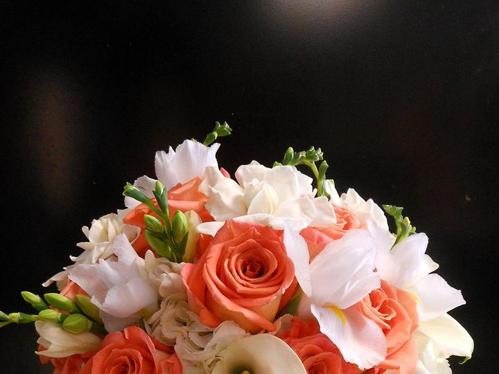 Tmx 1489000290777 Corals And Whites 2 Teaneck, NJ wedding florist