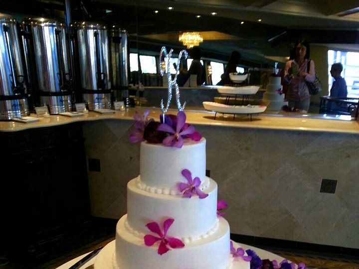 Tmx 1489011779922 Orchid Wedding Cake Teaneck, NJ wedding florist