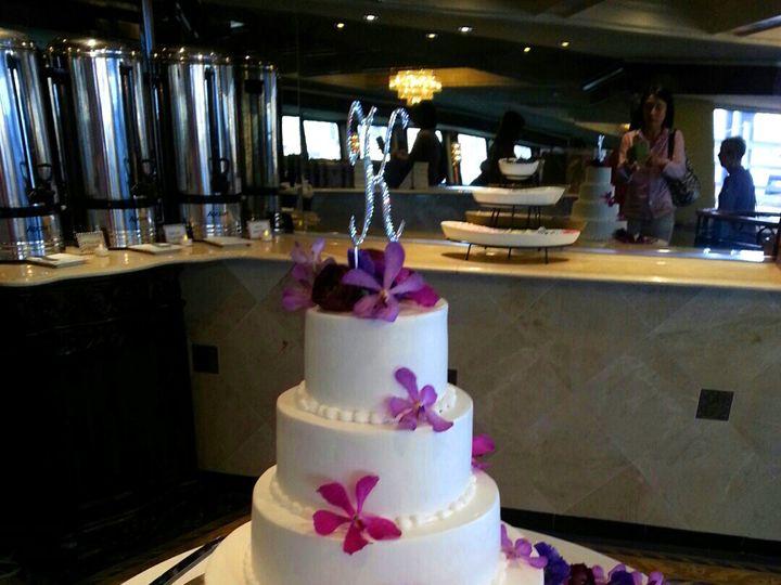 Tmx 1489011779922 Orchid Wedding Cake Teaneck, NJ wedding florist