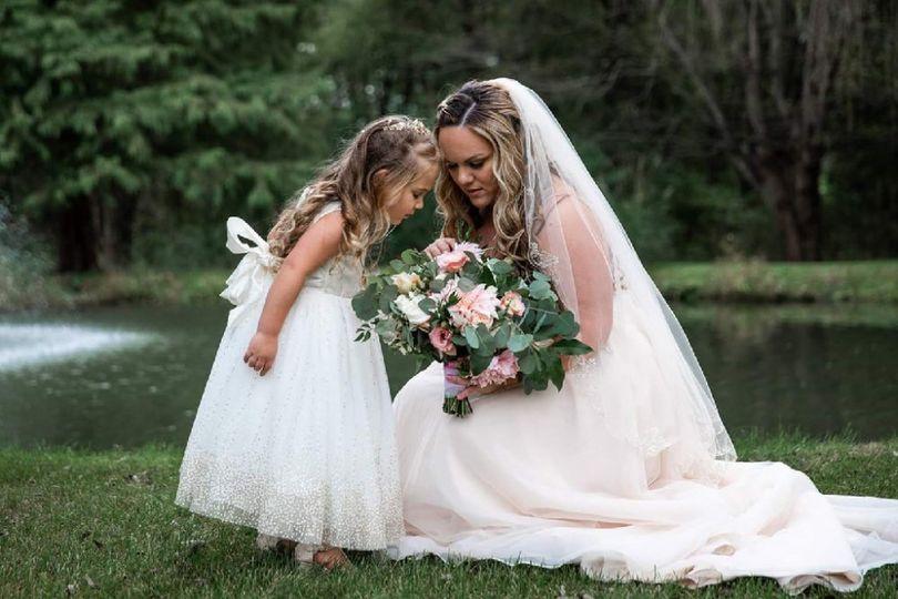 Fall Dahlia Wedding