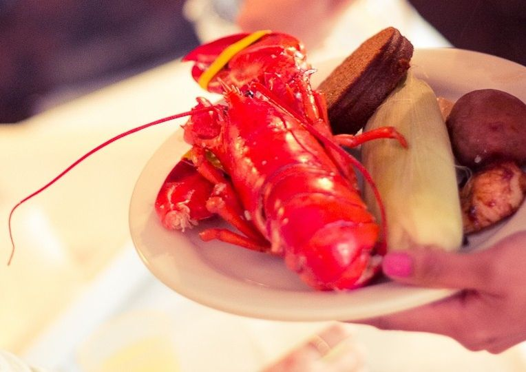We just can't get enough lobster around here.  Wedding catering options for everyone.