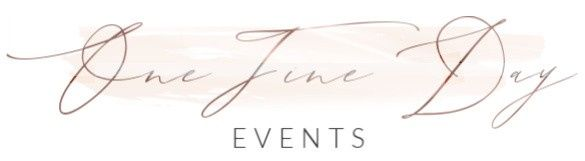 one fine day events logo 51 973517 157952669630564