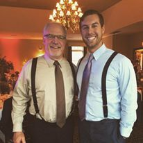 Dual officiant wedding