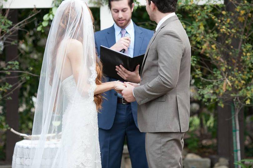 Ceremony in california