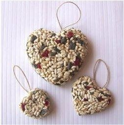 Decorate your wedding tables with these beautiful Heart Shaped Bird Seed Favors at each place...