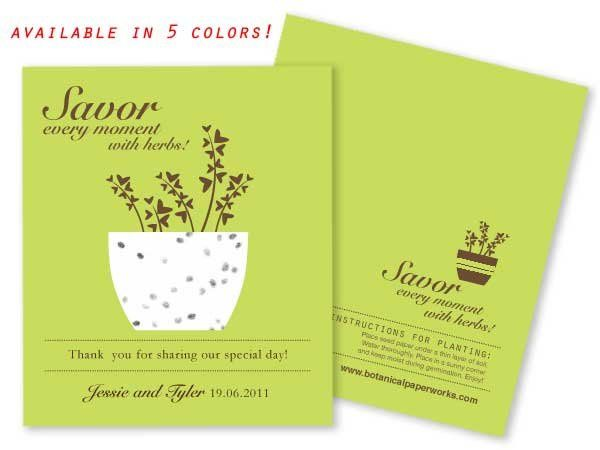 Tmx 1279130056401 Savorbasilgreenfcf Monroe wedding favor