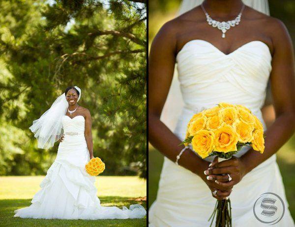 Beautiful Bride & Bouquet