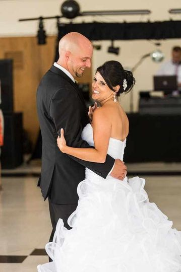 Photo from the wedding reception of Josh and Melissa Bowers at the Tuscarora Country Club in...