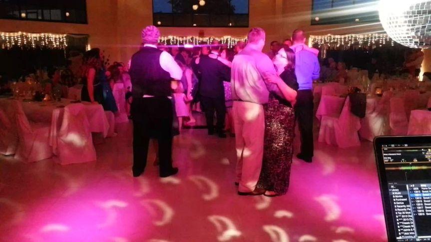 Wedding reception at the Tuscarora Country Club in Danville, VA.