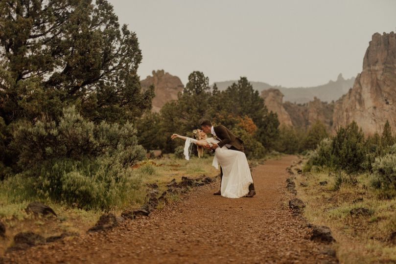 Central Oregon Tiny Wedding