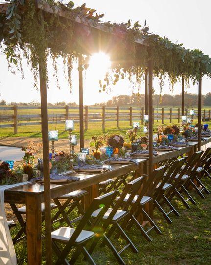 Tuscan Table Pergolas