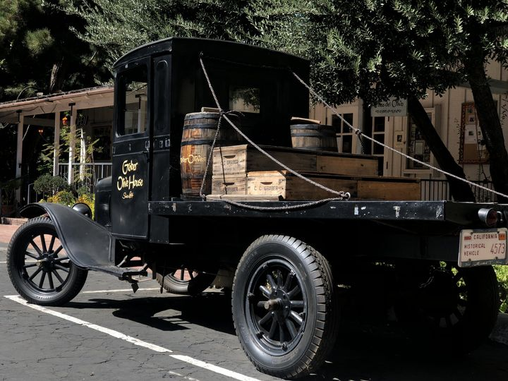 Vintage truck photo op