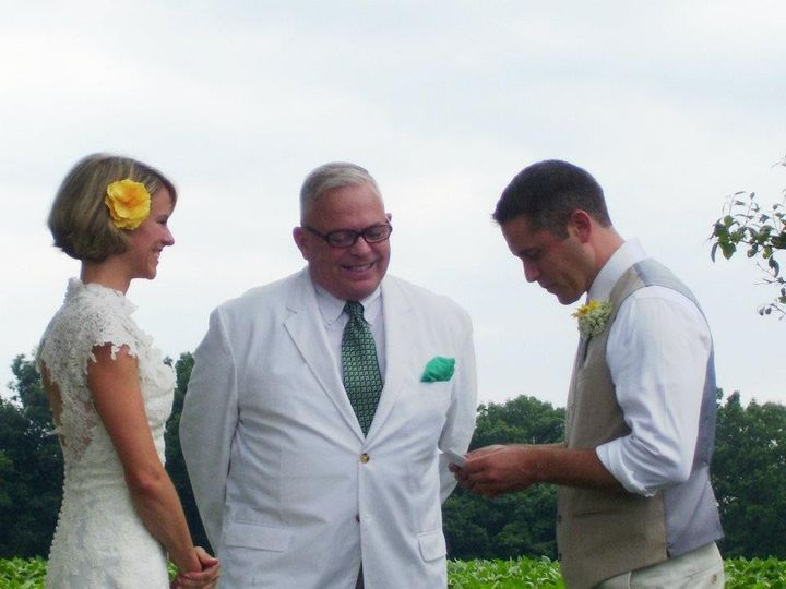 Tmx 1473953502447 Suzie  Tad Jakes 14july2012 6 Baltimore, Maryland wedding officiant