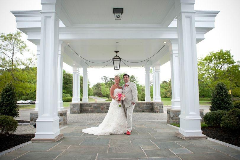 bride groom porte cochere