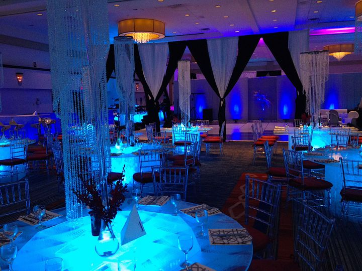 ONLY $50-$70 for these 6' diameter Acrylic Ice lite-up tables. We are the only company inFlorida...