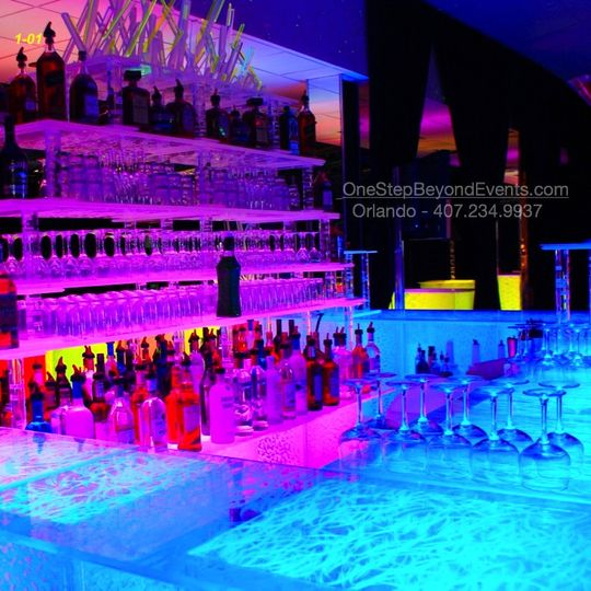 Acrylic Ice LED ice bars