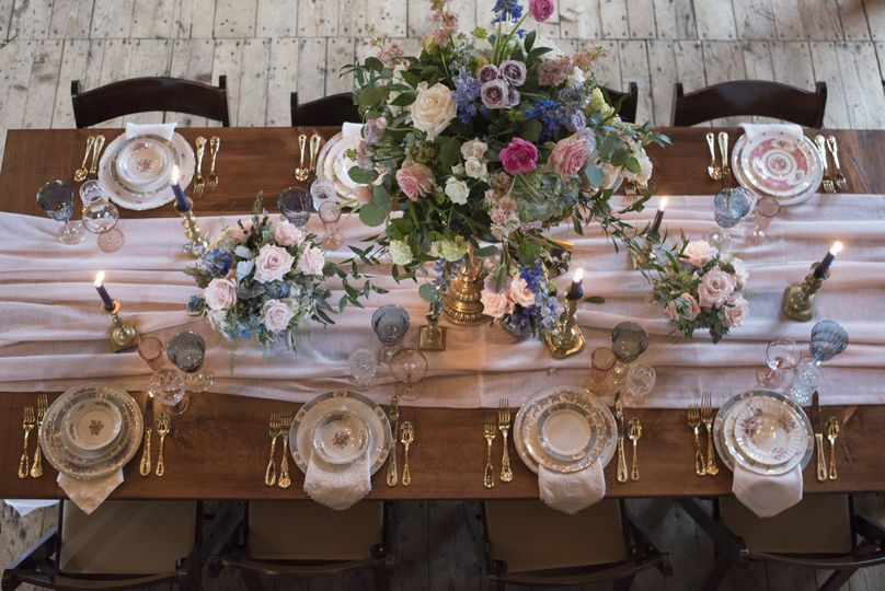 Head table arrangement | Boswick Photography