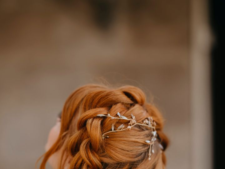 Tmx Halobraid Peachglam 51 60617 161558736313951 Chino, CA wedding beauty