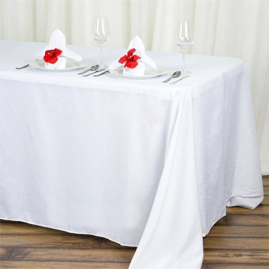 Rectangle polyester tablecloth