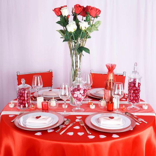 Valentine's day theme setup