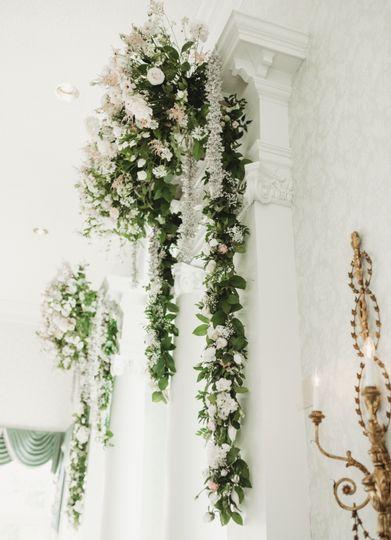 Windows flower arrangements
