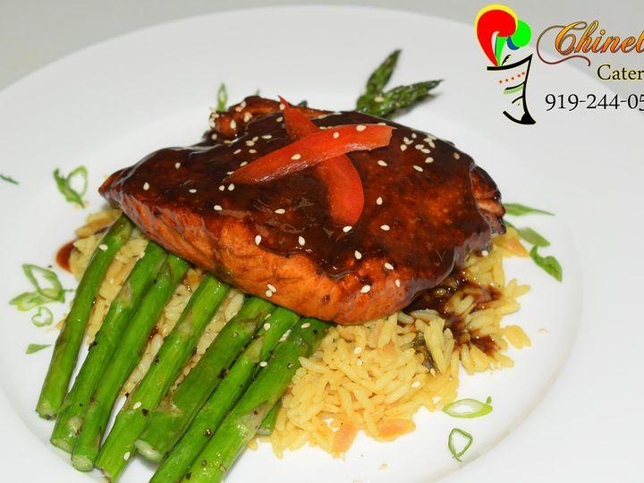 Tmx Asian Glased Salmon 51 952617 Garner, NC wedding catering
