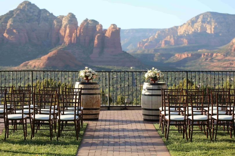 Sedona Wedding Venues.Sky Ranch Lodge Venue Sedona Az Weddingwire
